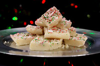 White Chocolate Peppermint Christmas Fudge Recipe