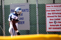 Dallas Cowboy's Training Camp August 6, 2013