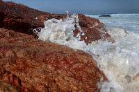 Red Rock and Splashes
